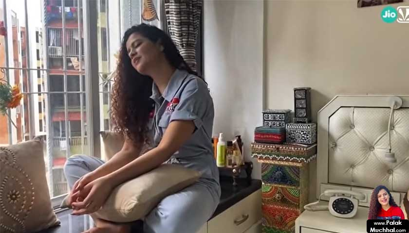 A day in the life of Palak Muchhal